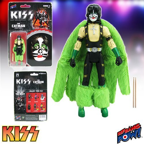 Kiss Unmasked 3 3/4-Inch Action Figures Deluxe Box Set Convention Exclusive 1500000031942