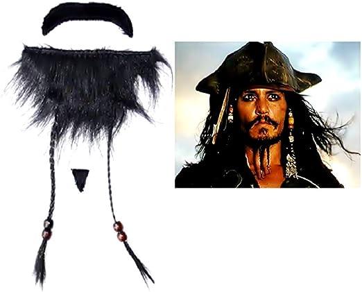 Inception Pro Infinite Pirata del Caribe Barba Falsa - Jack ...