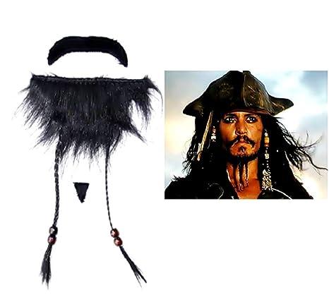 Inception Pro Infinite Barba Finta Pirata dei Caraibi - Jack Sparrow -  Adesivi - Accessori -. Scorri sopra l immagine per ingrandirla aeee5a30a3bc