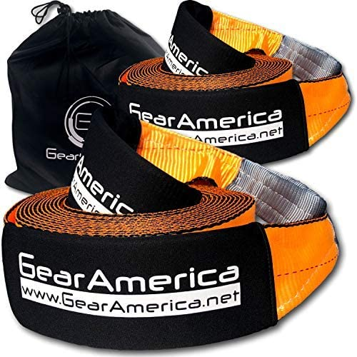 GearAmerica 2PK Recovery Tow Straps