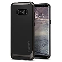 Galaxy S8 Case, Spigen Neo Hybrid - Flexible Inner Protection and Reinforced Hard Bumper Frame for Samsung Galaxy S8 (2017) - Gunmetal