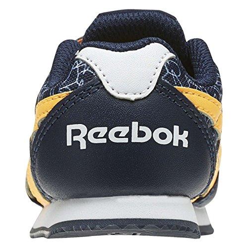 Reebok Bd4024, Zapatillas de Trail Running Unisex Niños Azul (Azul (Collegiate Navy /     Fire Spark /     White)