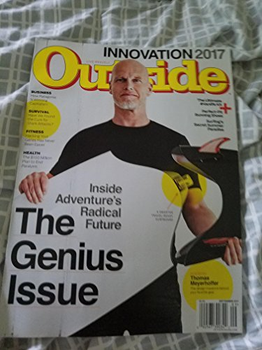 Outside Magazine (September, 2017) The Genius Issue