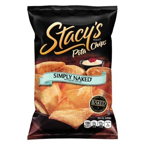 Stacys Simply Naked Pita Chips, 1 Ounce -- 72 per case. by Stacy's