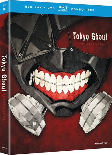 Blu-ray : Tokyo Ghoul: The Complete Season (With DVD, 2 Pack, , Dubbed, 2 Disc)