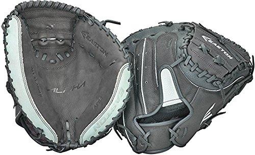 Easton APB2 Alpha Series Catcher's Mitt, 34-Inch, Right Hand Throw ()