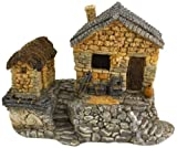 Cheap Top Collection Enchanted Story Garden and Terrarium Fairy House Outdoor Decor with Tool Shed