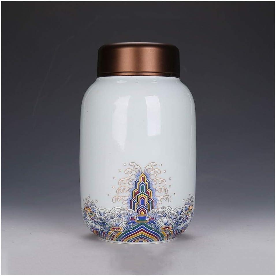 LC_Kwn 記念の火葬箱、灰のお土産の容器作りの付属品記念ホールの小箱セラミック彫刻 (Color : White)