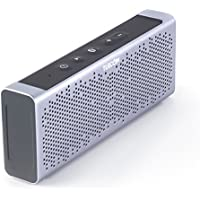 Turcom Titan Bluetooth Speaker Portable Wireless Mobile Mini Speaker, Dual Speakers 10 Watt Total Power, IPX5 Certified Water-Resistant, Enhanced Bass Boost, Built in Mic, 3.5mm AUX Port, Rechargeable Battery, High-End Aluminum Casing, Works with Iphone, I