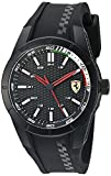 Ferrari Men's 'Redrev' Quartz Black Casual Watch (Model: 0830301)