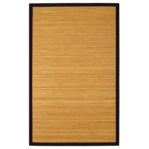 Contemporary Natural Bamboo (Contemporary Natural Bamboo Rug 4' x 6')