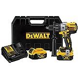 DEWALT 20V MAX XR Hammer Drill Kit with Bluetooth Batteries (DCD997P2BT)