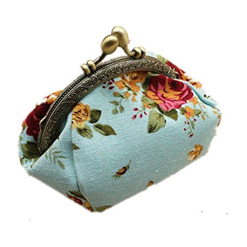 TOMATO-smile - Bolso mochila  de poliuretano para mujer beige Diseño 4 azul