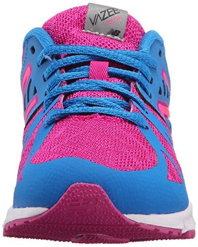 New Balance Nbkjruspbp, Zapatillas de Gimnasia Unisex Niños Multicolore (Purple Blue)