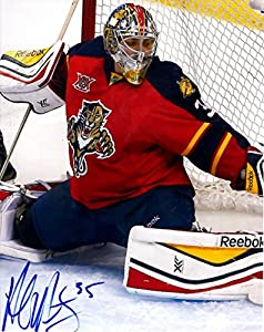 Autographed Al Montoya 8x10 Florida Panthers Photo