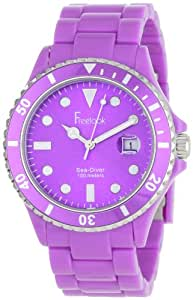 Freelook Women's HA1438-2 Sea Diver Purple Analog Sport Watch