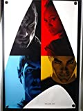 Star Trek Chris Pine Comic Con Mail-Away Original Singble Sided Rolled 27x40 Movie Poster 2009