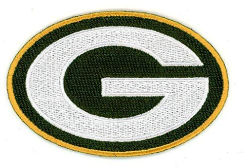 - Green Bay Packers Logo NFL Football Hat Shirt Jersey Embroidered Iron On Patch