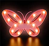 DollarItemDirect 9.5'' BUTTERFLY LED LIGHT BOX, Case of 12