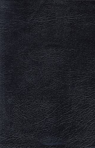 NKJV, Reference Bible, Giant Print, Bonded Leather, Black, Red Letter Edition (Classic)