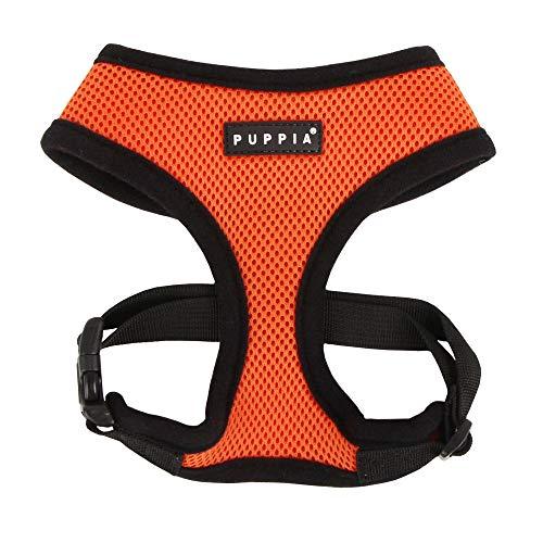 Puppia Soft Dog Harness, Orange, Small