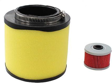 Air Filter Oil Filter Spark Plug for Honda Rancher 350 Foreman 400 450 4x4