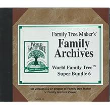 Family Tree Maker's Family Archives World Family Tree Super Bundle 6