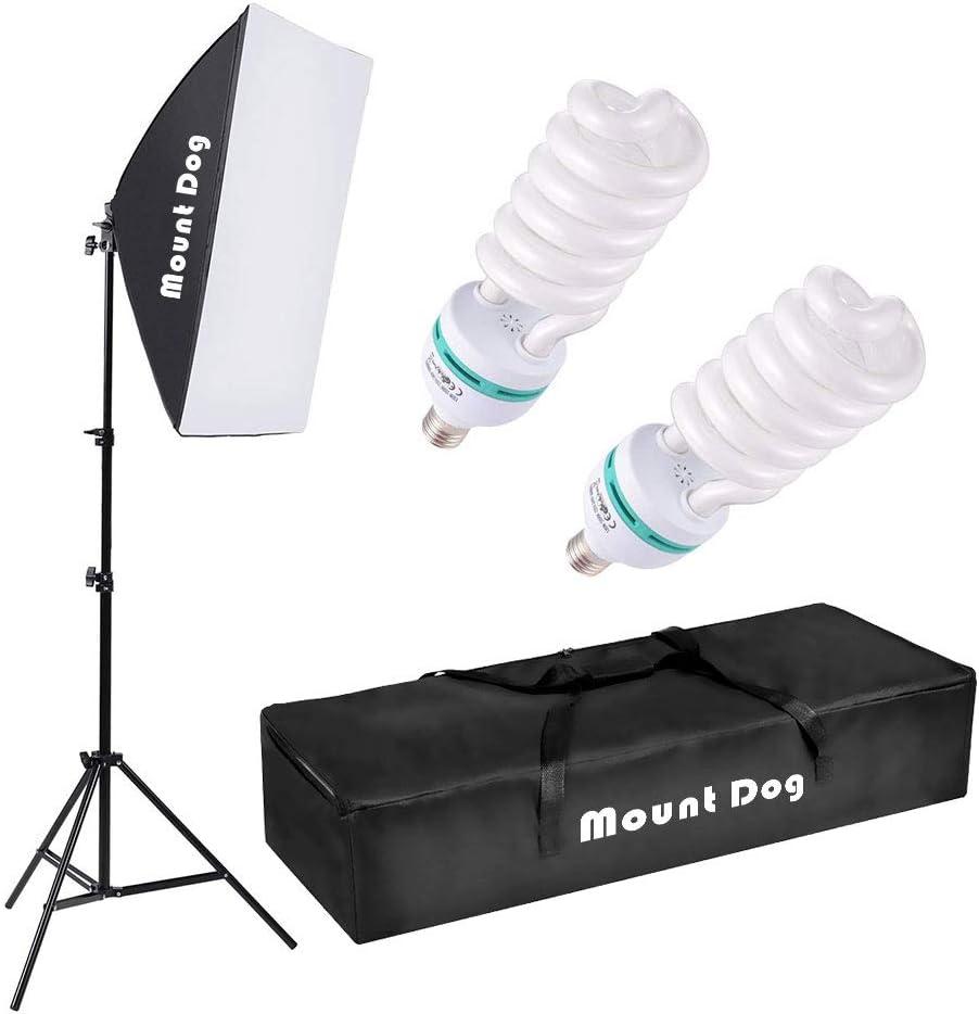 Softbox Lighting Kit by MOUNTDOG