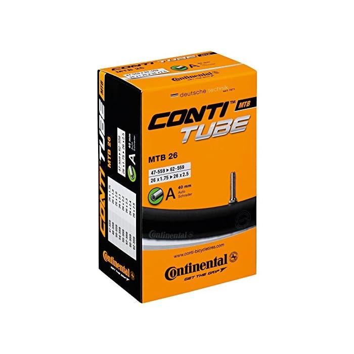 Continental MTB 26 – Cámara de aire para bicicletas