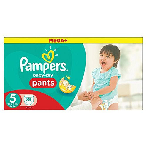 Pampers Baby Dry Pantalon taille 5 Mega Box Plus 84 par lot Procter & Gamble