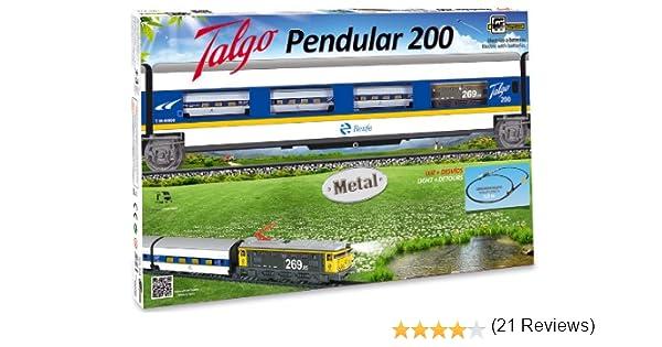 PEQUETREN - Talgo Pendular 200, Tren con Circuito de 5.8 m (975 ...