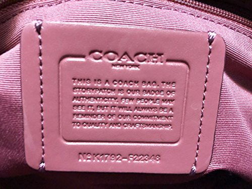 Faye Coach Leather F22348 Purse Crossbody Rouge Carryall ZZqrw5C