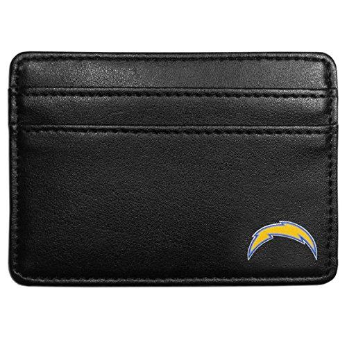NFL San Diego Chargers Leather Weekend Wallet, Black (Graduation Memorabilia)