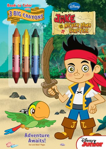 Amazon.com: Bendon Jake and the Neverland Pirates Coloring Book with ...