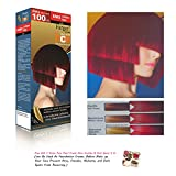 +++ Farger R/mix Premium Permanent Hair Dye Color Cream Red Punk Goth XXL Equals 2 Dye Boxes [Get Free Tomato Facial Mask ]+++