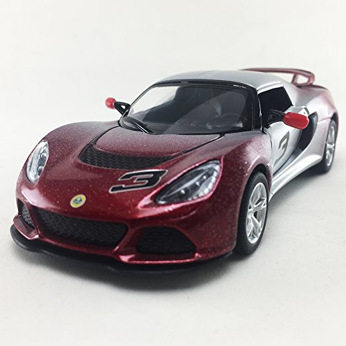 2012 Lotus Exige S Two Tone Red Color Kinsmart 1:32 DieCast,Model,Toy,Car,Collectible, Collection, Hobby