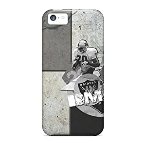 New Arrival Case Cover With FLW5166mxMH Design For Iphone 5c- Oakland Raiders