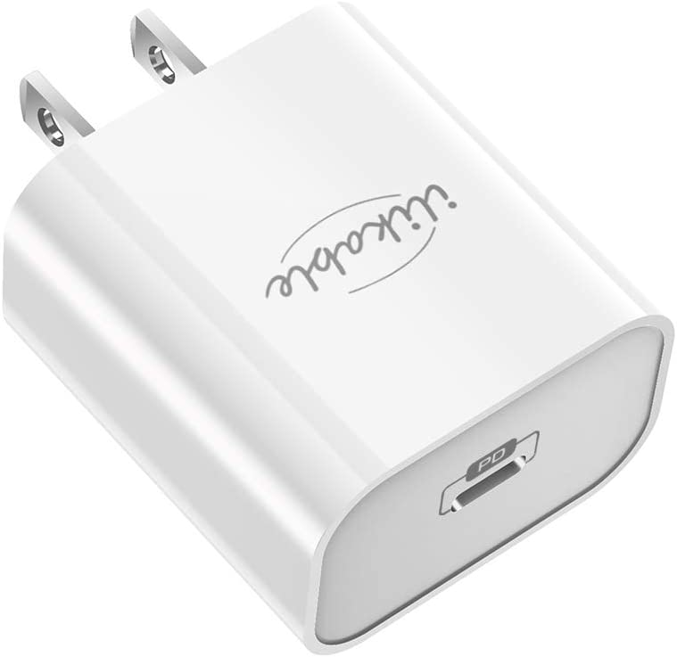 20W USB C Wall Charger - ilikable iPhone Fast Charger - PD 3.0 Type C Wall Plug USB-C Power Adapter Block Compatible with iPhone 12/12 Pro/11 Pro Max/8/8 Plus/iPad Pro/AirPods/Galaxy S10/S9/Pixel