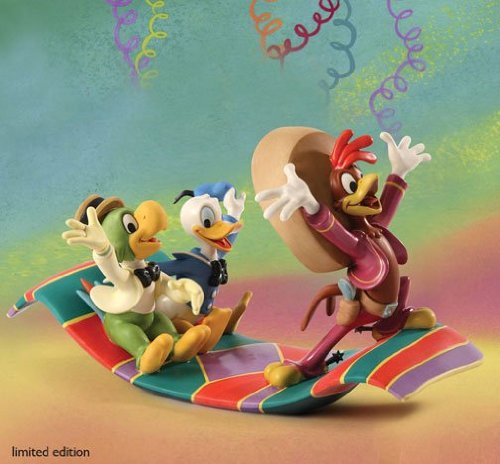 Wdcc Donald Duck - WDCC Disney Donald Duck, Jose & Panchito Airborne Amigos 4021349 LE