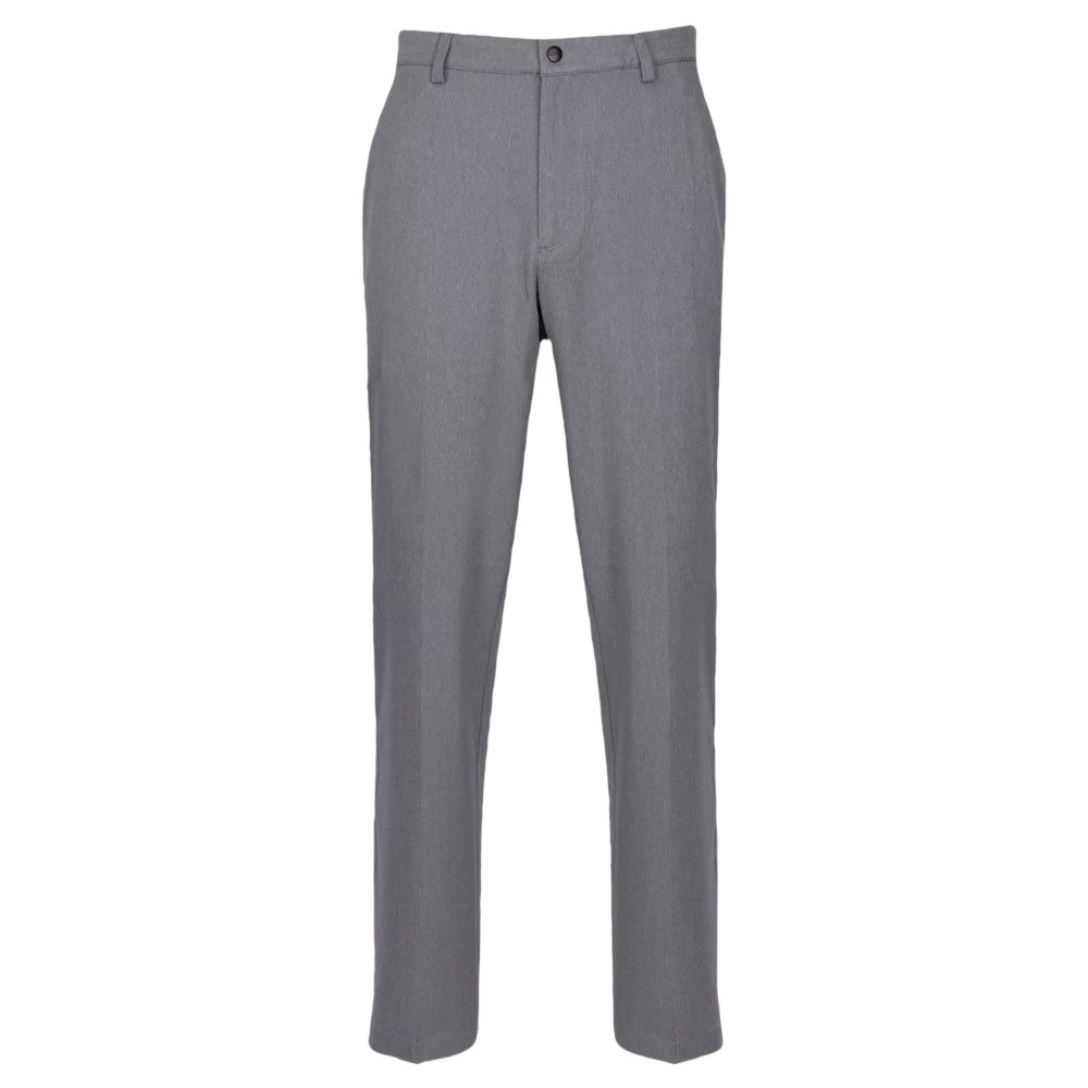 Greg Norman Men's Classic Pro-fit Pant, Steel Heather, W: 36'' x L: 30'' by Greg Norman
