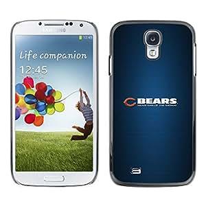 // PHONE CASE GIFT // Duro Estuche protector PC Cáscara Plástico Carcasa Funda Hard Protective Case for Samsung Galaxy S4 / BEAR SPORT TEAM /