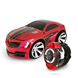 Smart Watches Best Deals - Voice Command Car, Megadream Smart Watch Voice Control 2.4 G Frenquency Rechargeable Creative RC Car with Cool Brakes and Dazzling Headlights Voice on/off for Children Kids Students Toys Gifts by Megadream