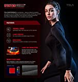 TSLA 1 or 2 Pack Women's Thermal Yoga Pants, Fleece Lined Compression Workout Leggings, Winter Athletic Running Tights