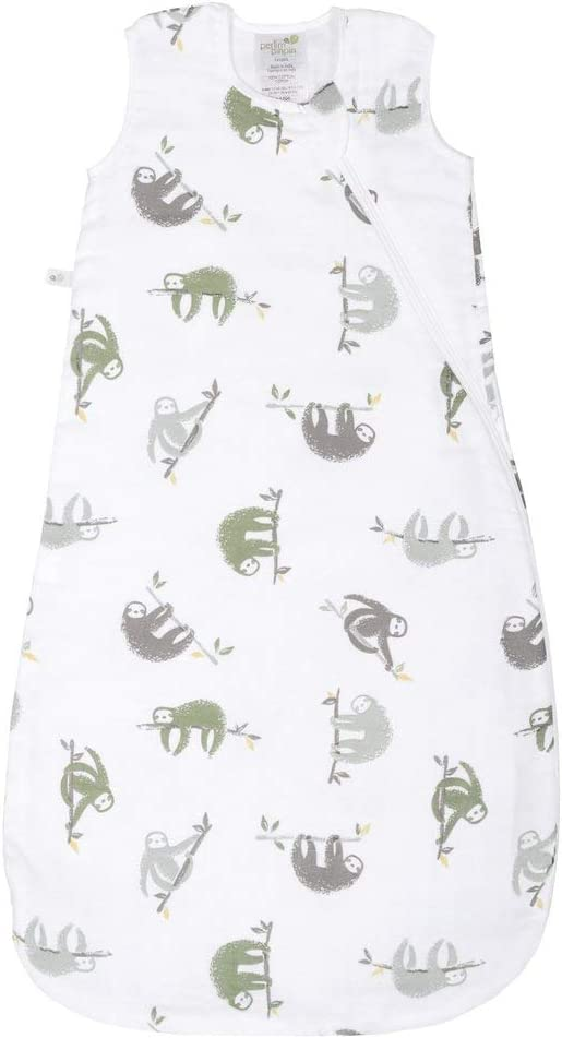 Canada/'s #1 Baby Bag 0.7 TOG 0-6 Months NEW Spring 2020 Release Perlimpinpin Muslin Sleep Sack