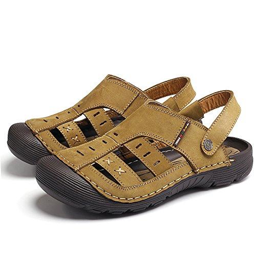 Uomini Xing Pantofole Sandali Nuovi Usura Cool Baotou Gioventù Della Lin Studenti Khaki Selvaggi rgU5Eqwr