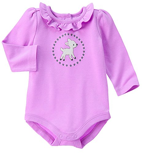 Gymboree Clothes Purple Onesie Deer (12/18 months)