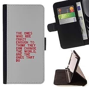 Momo Phone Case / Flip Funda de Cuero Case Cover - die tun - HTC One M8