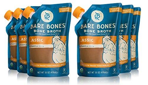 Bare Bones Organic Chicken Broth