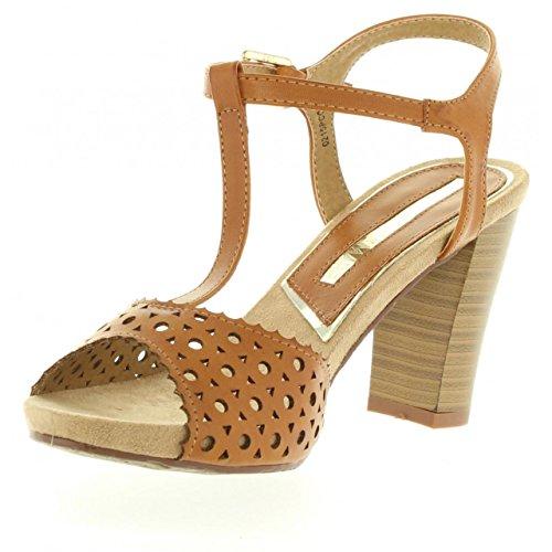 Sandalias de Mujer MARIA MARE 66174 BRUSH CUERO