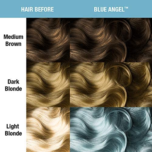 Manic Panic - Blue Angel Pastel Classic Creme Vegan Cruelty Free Semi-Permanent Hair Colour 118ml